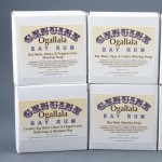 Genuine Ogallala Bay Rum Shaving Soap